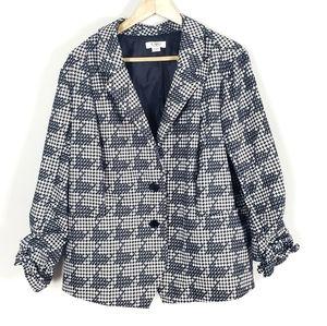 CATO Woman Houndstooth Blazer Size 22/24W